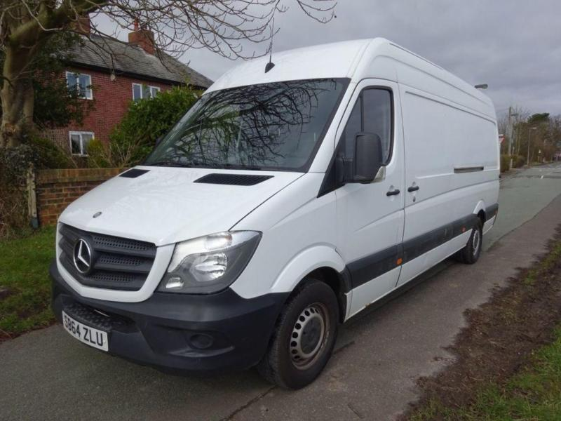 5d8ed4d9bb WHITE MERCEDES-BENZ SPRINTER 2.1 313 CDI LWB    FROM £203 PER MONTH