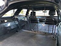 Genuine Audi A6 Avant metal dog guard. Fits 2011 onwards