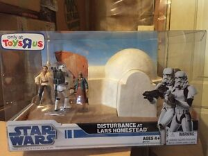 Star Wars 2008 Legacy Collection Disturbance at Lars Homestead