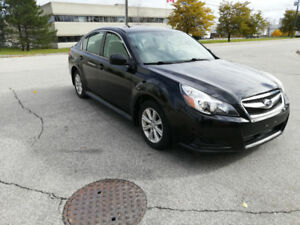 Selling 2011 Subaru Legacy LOW KM certified+1year free warranty