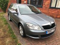 62 REG SKODA OCTAVIA 1.6TDI CR ( 105bhp ) SE PLUS-ESTATE-2 KEYS-GREAT CAR