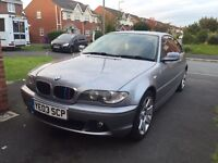 BMW 318CI Full Dealer Service History -Remapped