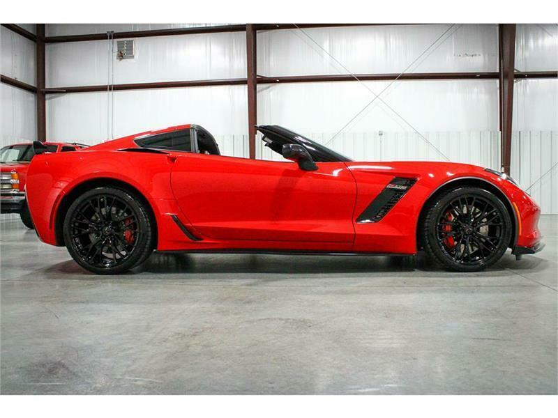 2016 Red Chevrolet Corvette Z06 3LZ   C7 Corvette Photo 6