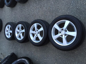 "16"" Mazda Alloys & Tires"