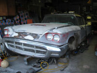 PARTING OUT 1960 THUNDERBIRD 2DR