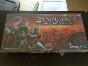 StarCraft the Board Game + Brood War expansion Fantasy Flight