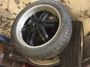 Cooper Xeon XST tires and rims