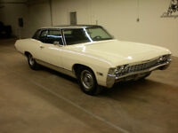 1968 CHEVY CAPRICE 2 DOOR BIG BLOCK