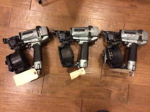 3 Hitachi roofing nailers guns NV45AE nail gun roof