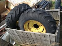 705/16 Tractor tires on 6X6 Rims