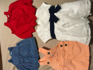 Lot baby girl clothes from newborn to 6 months