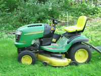 Lawn Tractor Tune Up