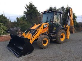 JCB and driver for hire.