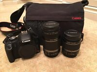 Canon camera bundle, perfect starter set