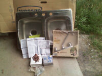 Still in Packaging Wessan 2 bowl Sink Asking $50 less than Store