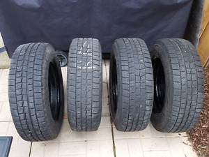 205/65R16 Dunlop Winter Snow Tires and wheels for sale