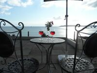 Holiday Let rental South Devon 180 degree sea view coastal 5* tripadvisor reviews