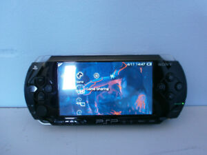 PSP Playstation Portable With games and case