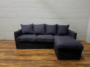 Free delivery: Condo-sized modern sectional