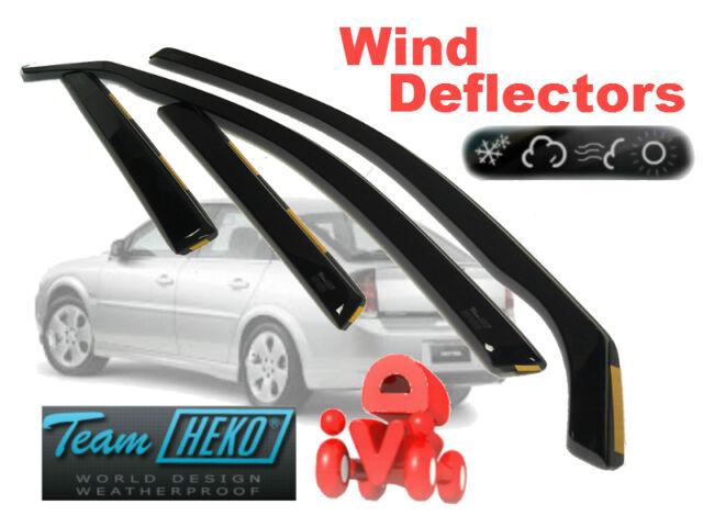 OPEL VAUXHALL VECTRA C 2002 - 2008 4D ESTATE  Wind deflectors 4.pc  HEKO 25361