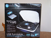 USB Turntable from Innovative Technology.