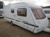 Sterling Europa 540/6 2004 6 Berth Rear Fixed Bunks Single Axle Touring Caravan