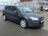 FORD FOCUS 1.6 LX 2006 GREY 5 DOOR 79K SERVICE AND NEW MOT ON SALE