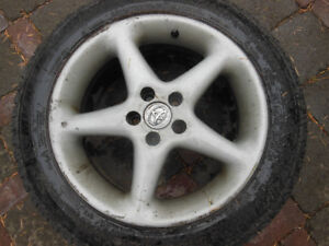 205 55 16 Toyota Matrix Aluminum Rims and Tires