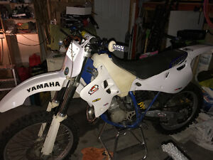1995 yz125 with ownership