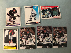 1,000+ Hockey cards including Wayne Gretzky and others