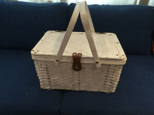 Wedding - vintage basket used for cards