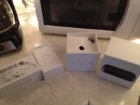 iphone4s and appletv 3 new boxes NO TAX CASH 20$