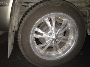 Mags and new summer tires brigstone