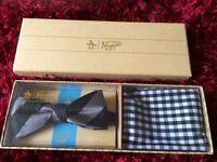 Men's bow tie set
