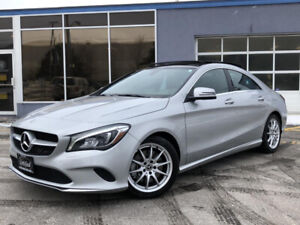 2018 Mercedes-Benz CLA250 4MATIC COUPE-PANOROOF-NAV-BACKUP CAM-B