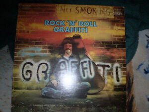 vinyl Records Rock 'N' Roll Graffiti double disque en 33 tour