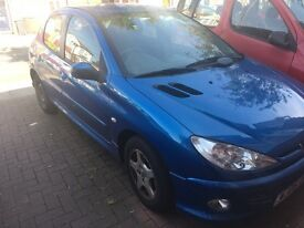PEUGEOT 206 Manual, great condition, low mileage