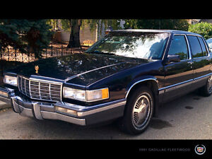 1991 Cadillac Fleetwood Gold Package Sedan
