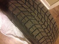 4 VERY GOOD CONDITION WITER TIRES 185/65 R15