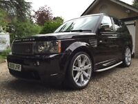Land rover range rover sport td v8 Factory HST top of the range huge s