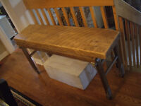 ARCHITECTURAL HERITAGE PINE CONSOL TABLE
