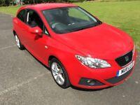 SEAT Ibiza 1.6 TDI SPORT SC 105PS (red) 2011