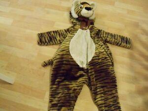 Plush Tiger Halloween Costume size 24months Kitchener / Waterloo Kitchener Area image 1