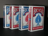 Bicicleta Póker Estándar Baraja 4 Packs Mazos Nuevo -  - ebay.es