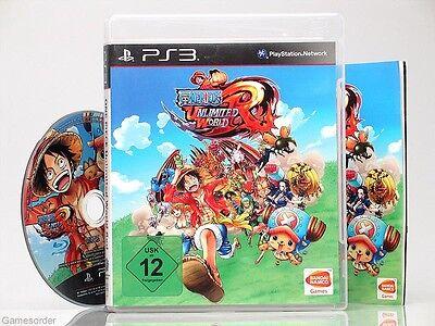 ONE PIECE - UNLIMITED WORLD RED  - dt. Version - ~Playstation 3 Spiel~ online kaufen