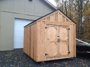 8'x10' Hemlock Shed with window