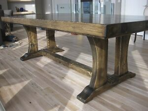 CUSTOM DINING TABLES BUILT TO SUIT
