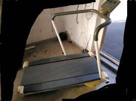 Tunturi Electric Treadmill, with incline