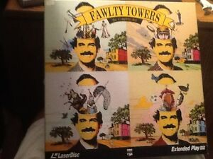 FAWLTY TOWERS THE COMPLETE SET LASERDISC BOXSET