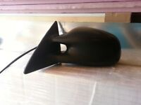 99-01 Grand Am SE Black Manual Driver Side View Mirror